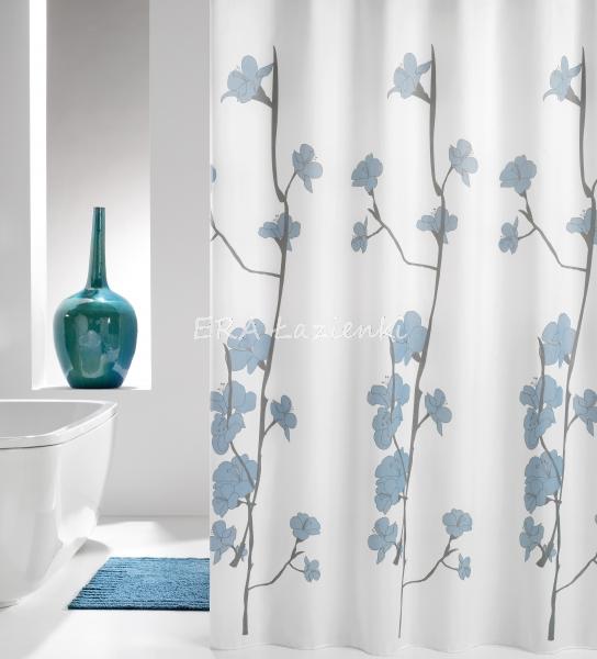 Zasłona prysznicowa z egzotycznej tkaniny