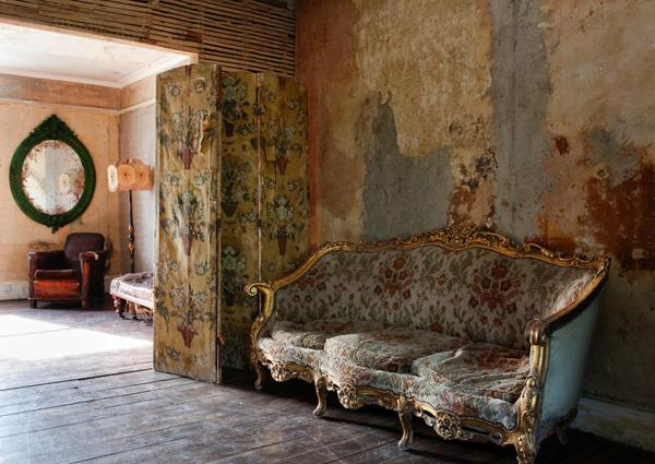 Wnętrze w stylu shabby chic