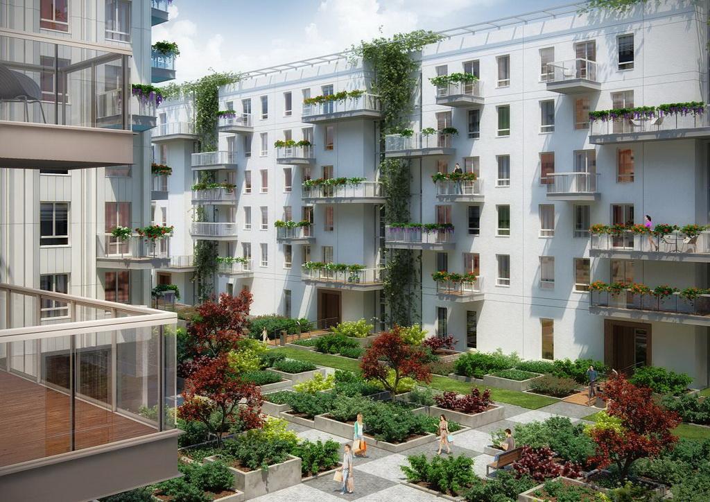Mieszkanie wśród przyrody? Nowe mieszkania na Żoliborzu gotowe do odbioru