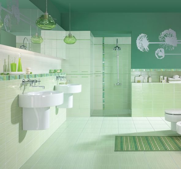 Modne podłogi w łazience