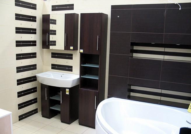 Eleganckie ściany w łazience