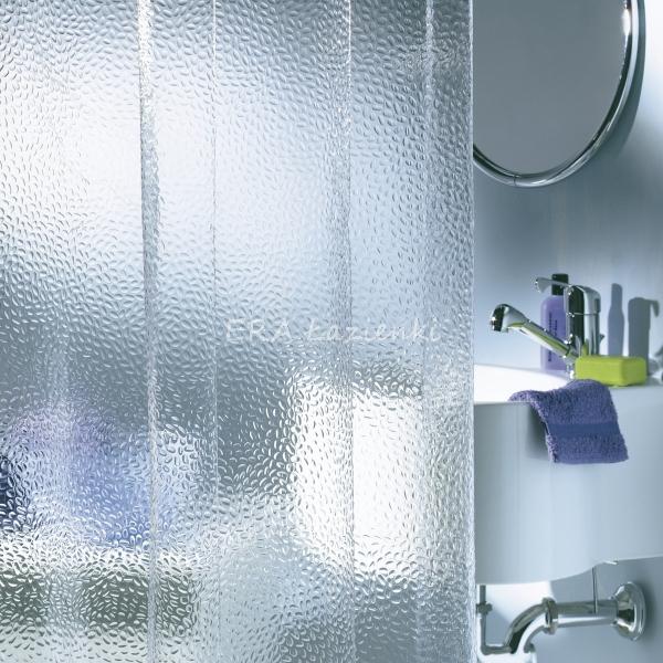 Nie szklana zasłona prysznicowa