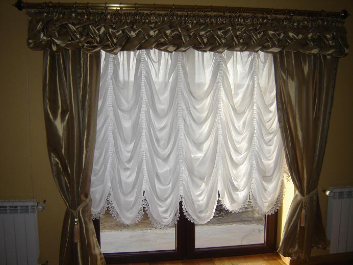 zasłony jako dekoracja okna
