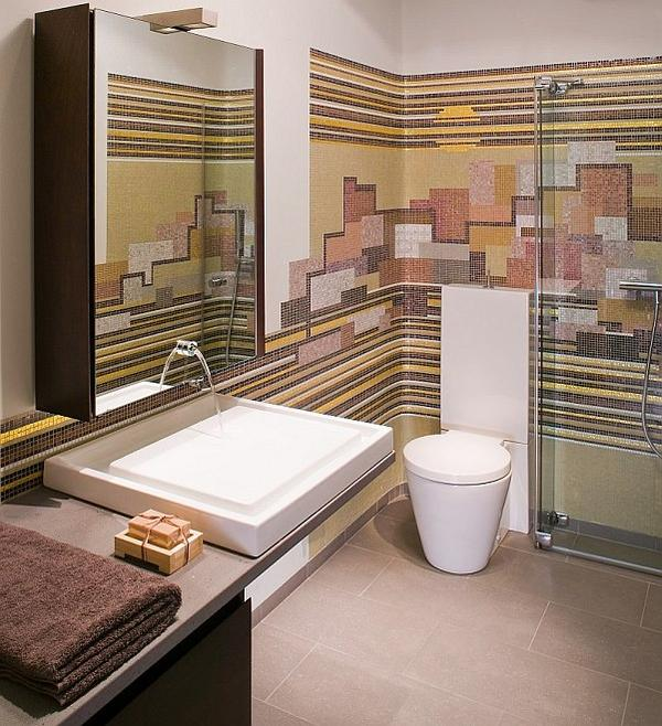 Ściany i podłogi w łazience
