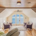 Pokój wypoczynkowy i hol na poddaszu