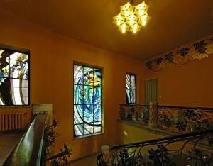 Malowane szkłem: gorące szkło, witraż .