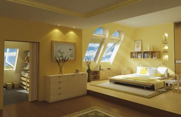 Elegancko urządzona sypialnia