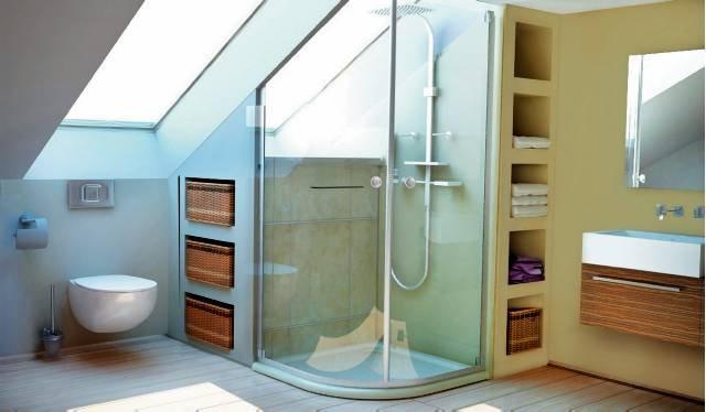 nowoczesne schowki do łazienki