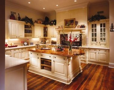 Fajnie oświetlone kuchnie