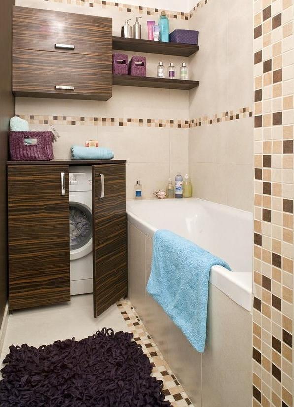praktyczne schowki w łazience